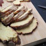 Torricado de Broa com Presunto e Pesto