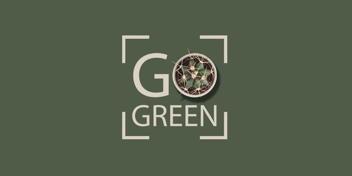 coleção de decoração DeBORLA Go Green