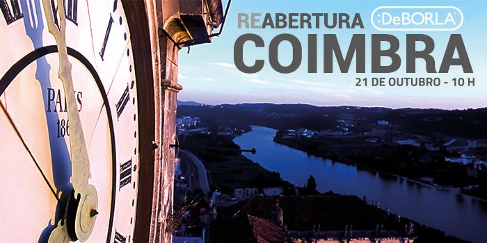 reabertura loja de decoração DeBORLA Coimbra