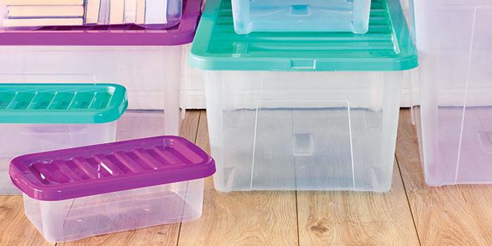 caixa de arrumação com espaço para muita organização