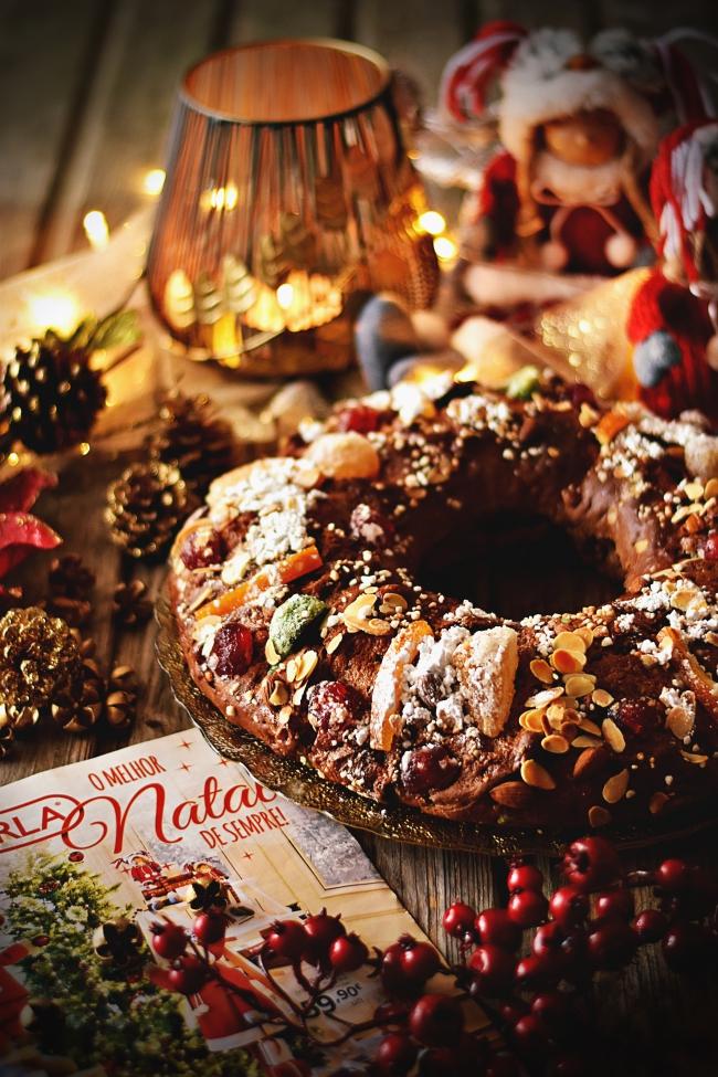 Bolo Rei de Alfarroba e o Melhor Natal de Sempre
