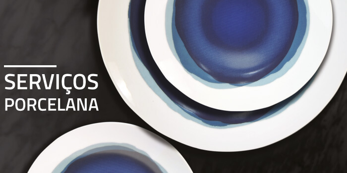 Porcelana: elegância à sua mesa com novos padrões exclusivos