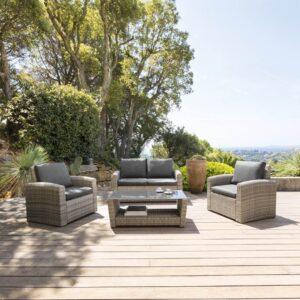 """Mobiliário de exterior em rattan sintético: design, conforto, durabilidade e um estilo """"trés Hespéride""""!"""