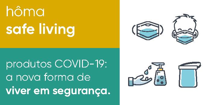 Safe Living produtos COVID-19
