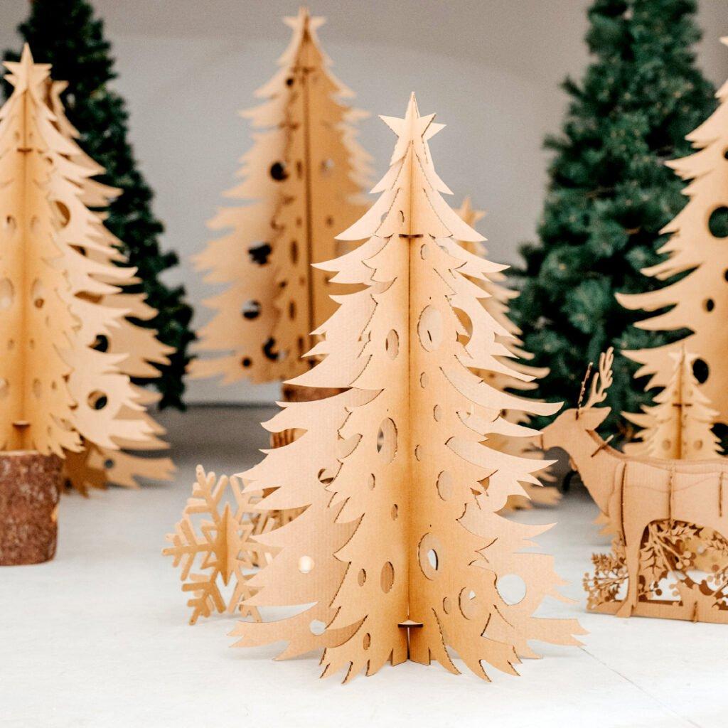árvore de natal Kraft Xmas