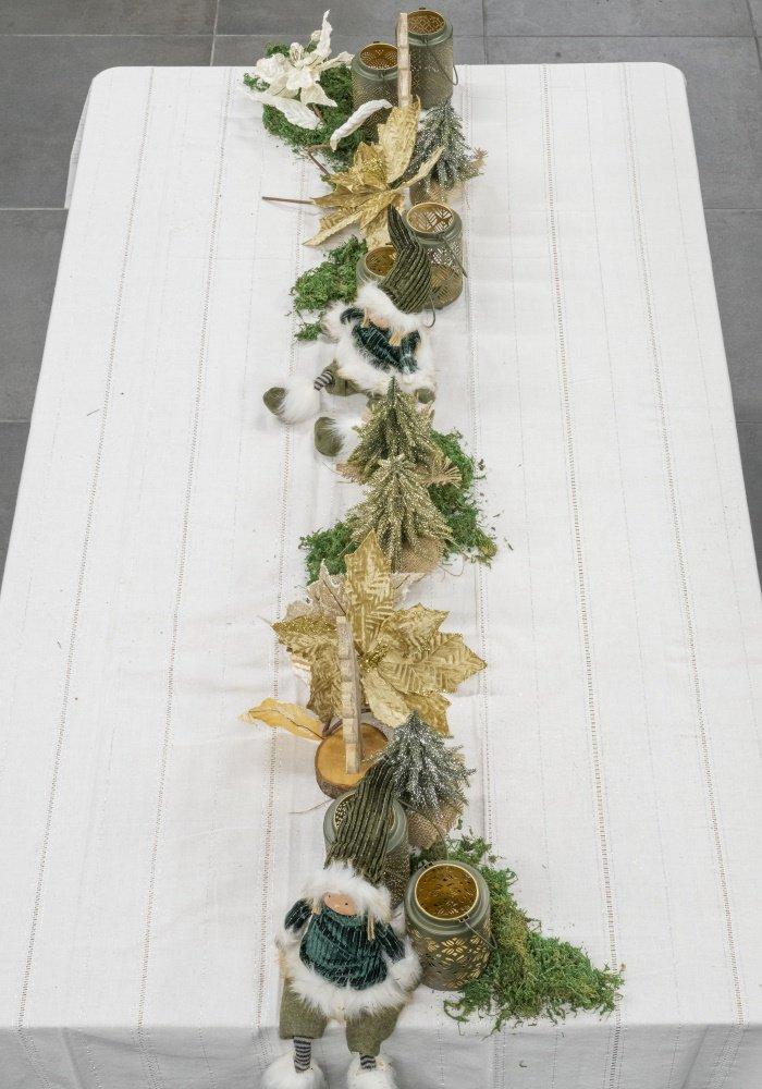 mesa de Natal elegante